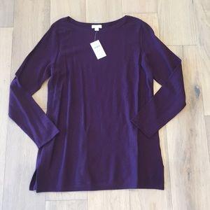 J Jill sweater medium petite purple